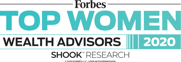 Forbes 2020 Top Women Wealth Advisor logo